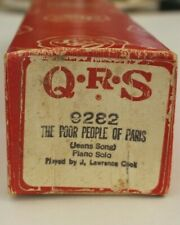 More details for qrs pianola roll: the poor people of paris