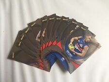 2011 Select AFL Champions Complete Silver Parallel teamset Western Bulldogs (11)