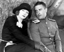 8x10 Print John Gilbert Greta Garbo Love 1927 #5500788