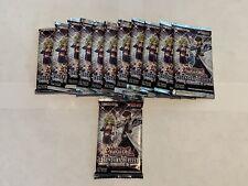 X12 YuGiOh duelistas temporada 2 Booster Packs legendaria (18 tarjetas cada uno) Nuevo Sellado