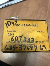 NOS Chevy G085 G506 Piston Ring Set .010 235 607333 WW2 Army Truck