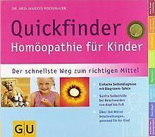 Quickfinder- Homöopathie für Kinder: Der schnellste Weg ... | Buch | Zustand gut