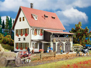 Vollmer HO 3721 Bauernhaus mit Scheune Neu