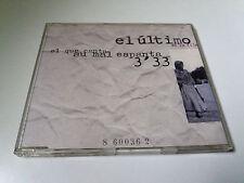 """EL ULTIMO DE LA FILA """"EL QUE CANTA SU MAL ESPANTA"""" CD SINGLE 1 TRACKS COMO NUEVO"""