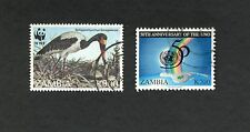 Zambia South Africa SC #649 #659 used stamps Uno, Senegalensis