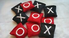 Mini Toss Bags X and O Tic Tac Toe Replacement Bags Kids Corn hole
