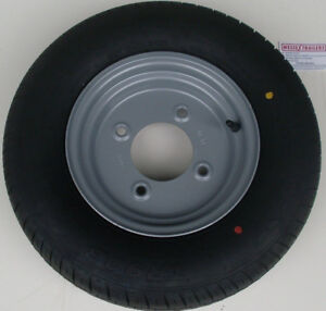 145/80 R10 4 STUD 5.5 PCD 8 PLY RATED TRAILER WHEEL