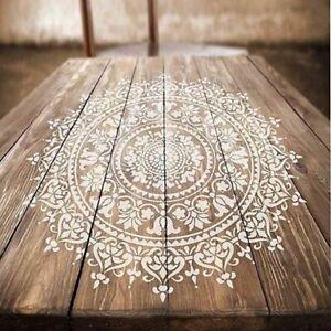 Diy Craft Mandala Stencils For Painting On Wood Fabric Walls Art 30 * 30cm Mold