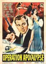 Opération apocalypse Poster 01 A4 10x8 photo print