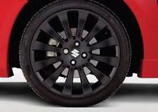 "BRAND NEW Genuine Suzuki SWIFT Leipzig 17"" Matte Black Alloy Wheel 990E0-68L70"