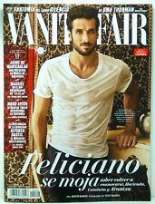 REVISTA MAGAZINE VANITY FAIR SPAIN  APRIL 2018  COVER FELICIANO LOPEZ