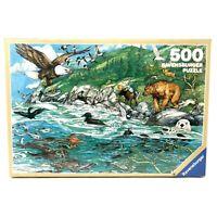 Ravensburger Pacific Shoreline 500 Piece Vintage Puzzle NEW SEALED