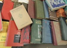 Lot of 10 Random antique Vintage Books Lot Unsorted Mixed