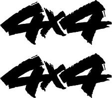 2 4x4 Off Road 4wd - Car - Van - Decal - Stickers - Window Graphics Body Panel 3
