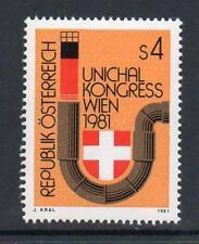 Austria estampillada sin montar o nunca montada 1981 SG1897 20TH Int Unión de distribuidores de calor de larga distancia