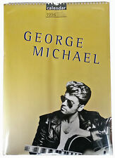 George Michael Bilder Poster Foto Kalender Calendar 1994 - Original Druck ovp.