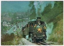 AK Eisenbahn Schweiz / Giswil, Dampflok HG 3/3, 1910, Ballenberg-Dampfbahn