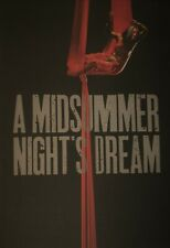 2007 The Roundhouse Theatre Programme Dash Arts A Midsummer Nights Dream