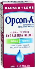Bausch - Lomb Opcon-A Eye Drops 0.50 oz