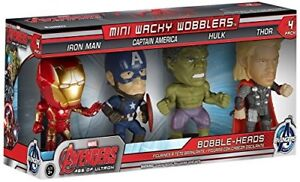 Funko Wacky Wobbler: Avengers 2 Mini Wobbler Action Figure 4 Pack