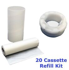 Tommee Tippee Sangenic Nappy Bin Refill Kit - 100% Compatible - 20 Cassettes