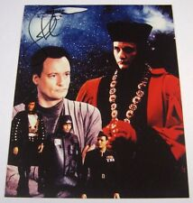 STAR TREK THE NEXT GENERATION JOHN de LANCIE Q SIGNED 8x10 PHOTO w/ COA TNG TV