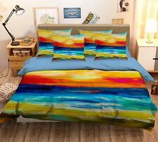 3D Painting 47 Bed Pillowcases Quilt Duvet Cover Set Single Queen King Au Carly