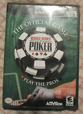 Nintendo Gamecube World Series of Poker (Manual, box and game)