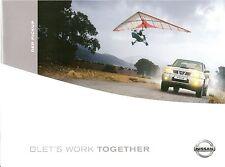 Prospekt / Brochure Nissan Pickup 02/2003