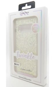 Case Mate Twinkle Series Case for Samsung Galaxy S10+ Plus Stardust Clear New