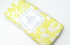 Pottery Barn Kids Yellow Georgia Floral Baby Crib Toddler Fitted Sheet New