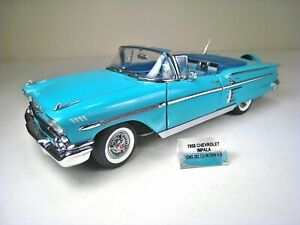 DANBURY MINT 1:24 Die Cast Metal 1958 Chevrolet Impala Convertible - Mint Cond