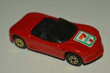 1994 Vintage Matchbox Corvette Sting Ray III 7 Eleven Promo Thailand Red Used