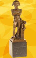 Bronze NAPOLEON Figur Skulptur Marmorsockel  Kamin Vintage Tischdeko Geschenk