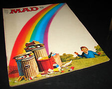 MAD Magazine 152 July 1972 Alfred E Neuman Rainbow Trash French Connection    A1