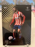2020-21 Topps UEFA UCL Champions Joao Felix Knockout Atletico Card 4 PR: 9072