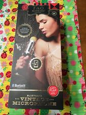 FAO Schwarz Vintage Bluetooth-Enabled Musical Microphone - Brand New In Box