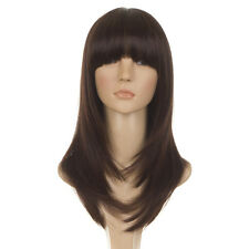 Katherine   Face Framing Feather Cut Fashion Wig with Fringe   4 Natural Shades