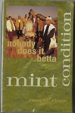 Nobody Does It Betta by MINT CONDITION (1993 Cassette SINGLE) New MINT SEALED