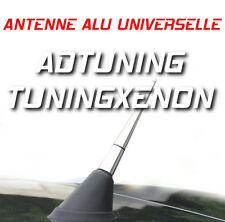 TUNING ANTENNE RADIO ALU CHROME 9cm PEUGEOT 106 206 306 307 406 407 CC COUPE