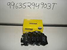 PORSCHE BOXTER S 987 FRONT PADS IN TEXTER O.E.M BOXTER S MODEL ONLY 99635294903T