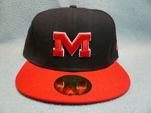 New Era 59fifty Ole Miss Rebels 2-Tone Sz 7 1/2 BRAND NEW cap hat Fitted