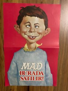 MAD TURKEY Middle East FOREIGN TURKISH MAGAZINE GIFT ORIGINAL POSTER SUBERB VHTF