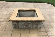 Fire Pit / Seat Wall Liner - Square (Set of 4)