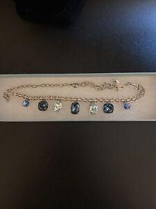 Touchstone Crystal by Swarovski Basketweave Statement Necklace NIB