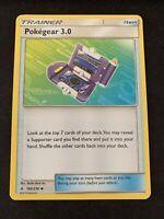 Pokemon 4x Pokegear 3.0 182/214 Uncommon Unbroken Bonds Near Mint
