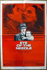 """EYE OF THE NEEDLE"" Only one person can stop him, German Spy Thriller - poster"
