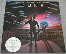 VINTAGE DUNE TOTO MOTION PICTURE SOUNDTRACK LP RECORD STORE ADVERTISING