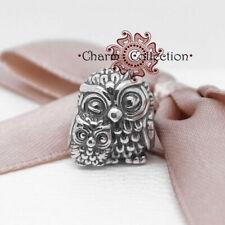 Pandora, S925, Charming Owls Animal Bracelet Charm, NEW, 791966
