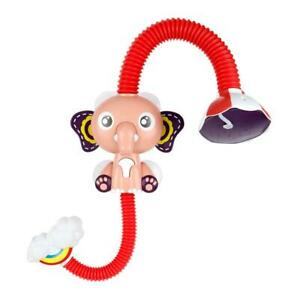 Cute Electric Elephant Water Pump with 360 Degrees Adjusted Hose Baby Bath Showe